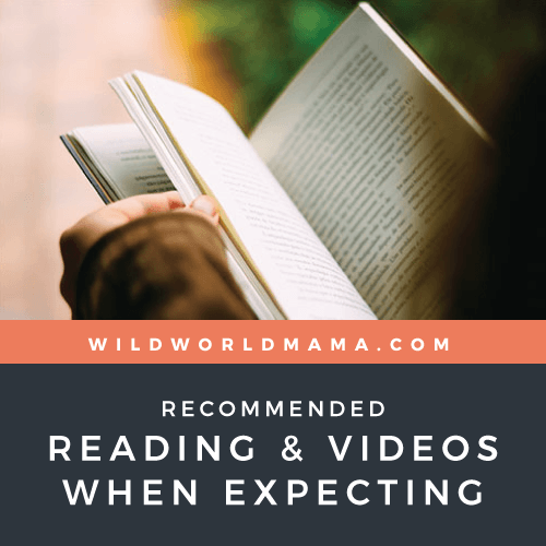 Wild World Mama - Recommended Reading and Videos When Expecting