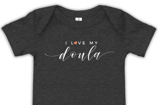 Wild World Mama - I love my doula onesie