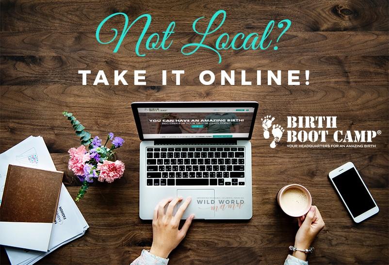 Birth Boot Camp Online Class - Wild World Mama